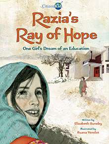 Razia's Ray of Hope book cover